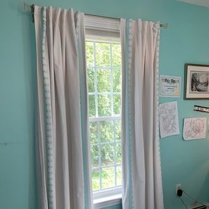 Pottery Barn blackout curtains